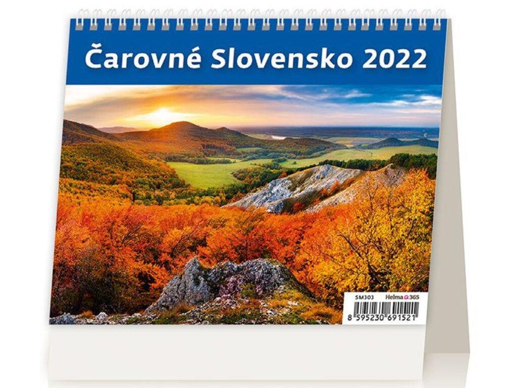 Kalendár Čarovné Slovensko
