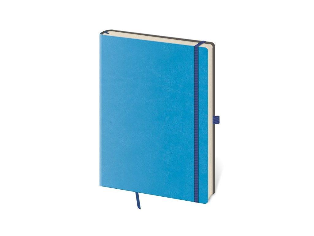 Zápisník Flexies S linajkový modrý