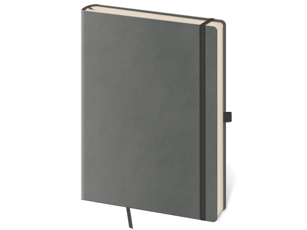 Zápisník Flexies S bodkovaný šedý