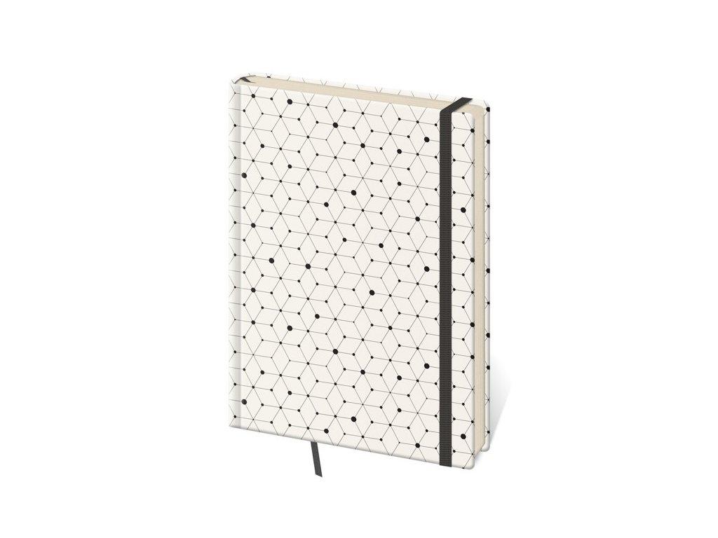 Zápisník Vario M bodkovaný design 5