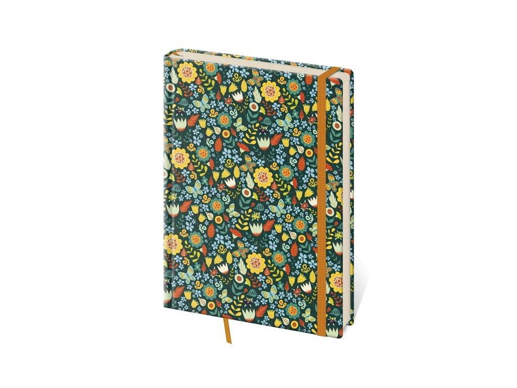 Zápisník Vario S linajkový design 6