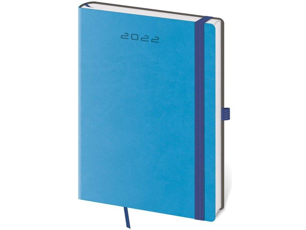 Denný diár A5 Flexies modrý s pútkom