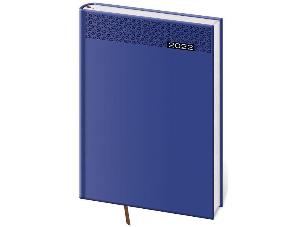 Denný diár A5 Gommato modrý