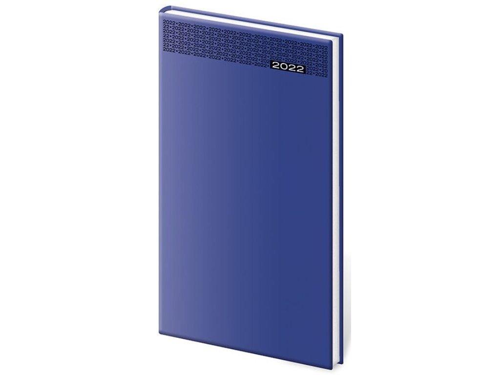 Vreckový diár Gommato modrý