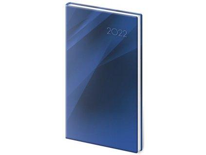 Vreckový diár Vario Blue design