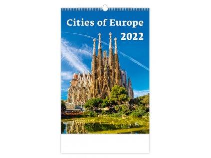 Kalendár Cities of Europe