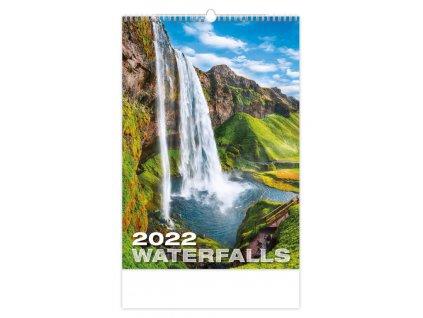 Kalendár Waterfalls