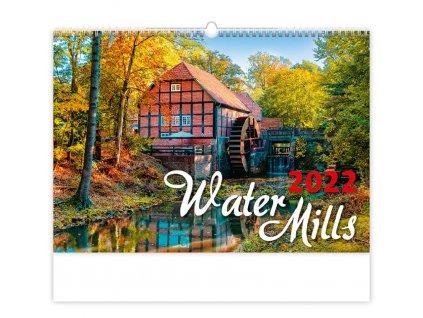 Kalendár Water Mills