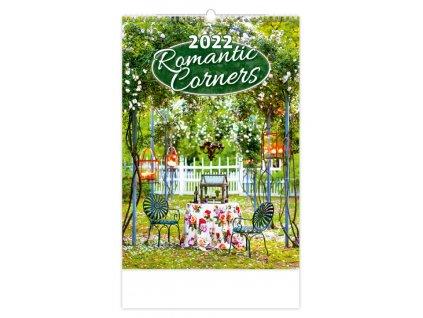 Kalendár Romantic Corners