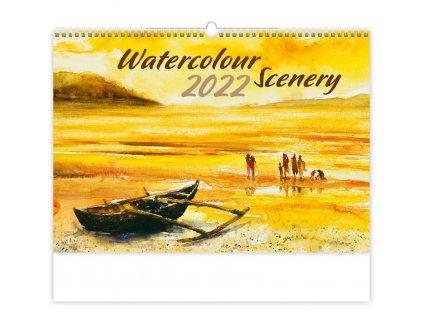 Kalendár Watercolour Scenery