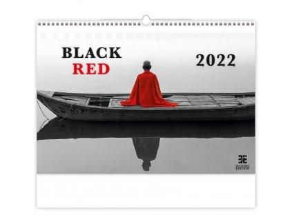 Kalendár Black Red