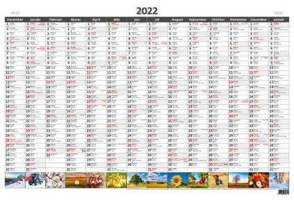 Plánovacia ročná mapa A1 - obrázková