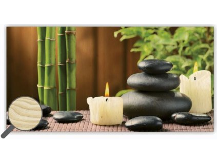 Drevený obraz Zen