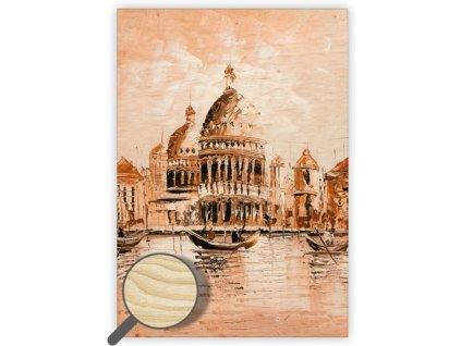 Drevený obraz Venezia II.