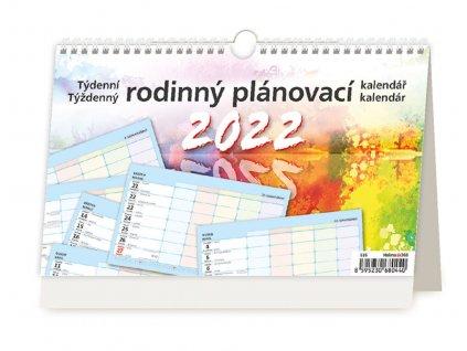 Týždenný rodinný plánovací kalendár