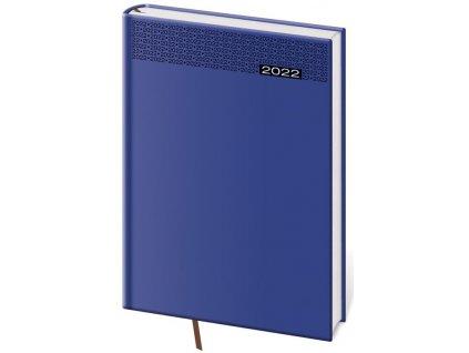 Týždenný diár B5 Gommato modrý