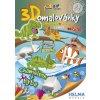 3D maľovanky Ryba a chameleón