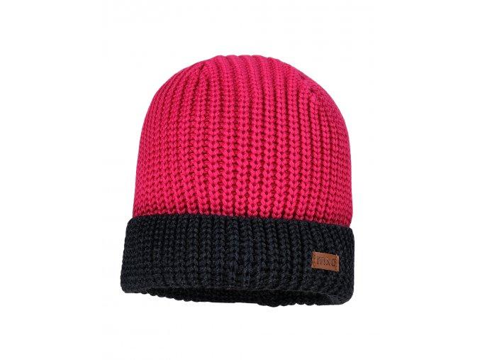 Dětská čepice z měkkého bavlněného pleteniny v oboustranné žebrové struktuře, velmi pružná a stylová.