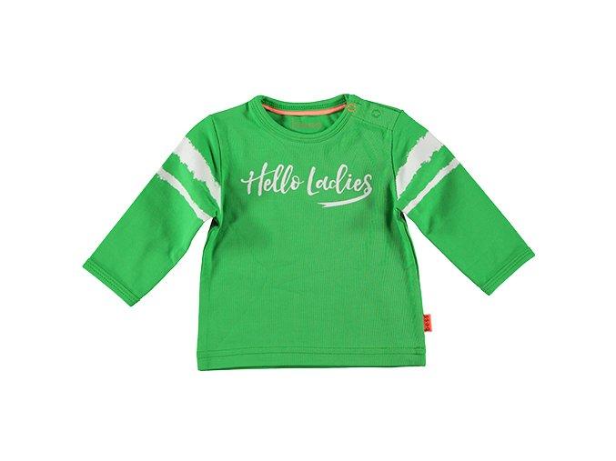 Klučíčí tričko zelené