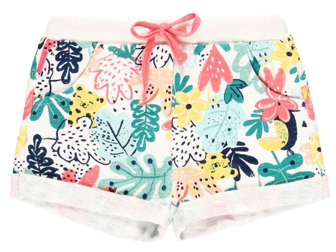 Dívčí šorty květy a listy 2190359303 a