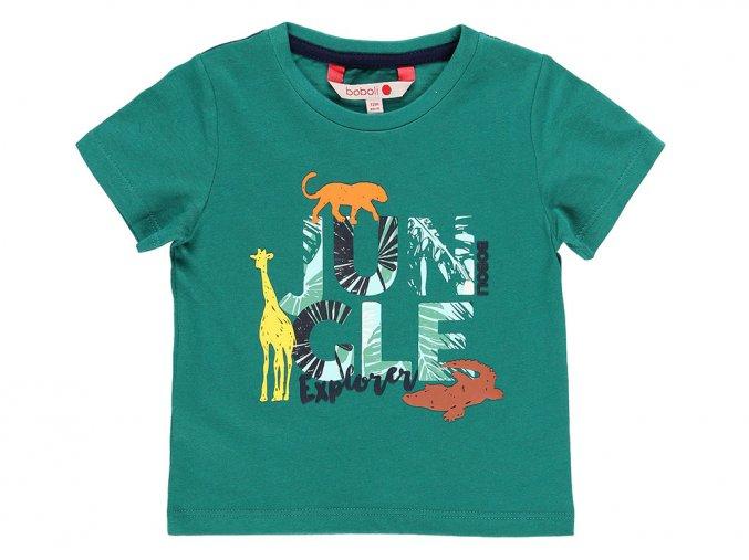 Zelené triko Jungle3190364504 a
