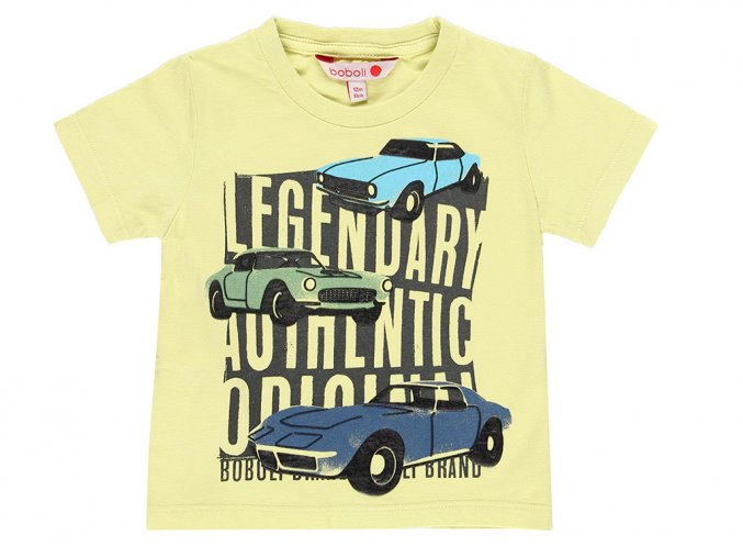Chlapecké tričko s autama Legendární auta Boboli 3290604505 a