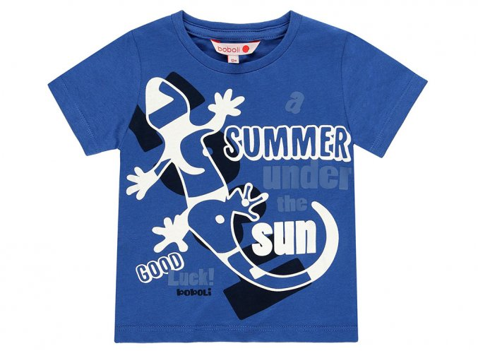 Chlapecké tričko Svítící ještěrka 3490732465 a