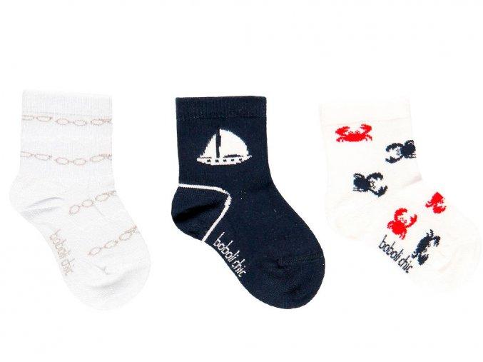 7191192440 a Chlapecké ponožky elegán