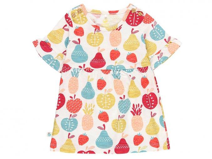 Kojenecké letní šaty organic bio bavlna Barevné ovoce Boboli 6090169341 a