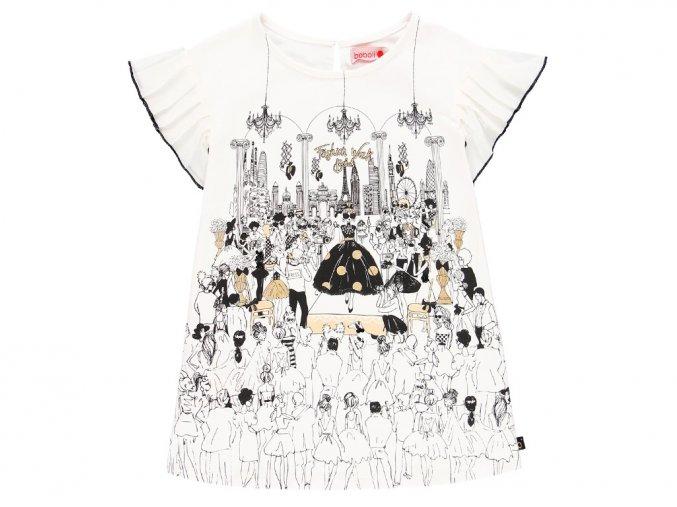 7293901100 a Bílé šaty Fashion