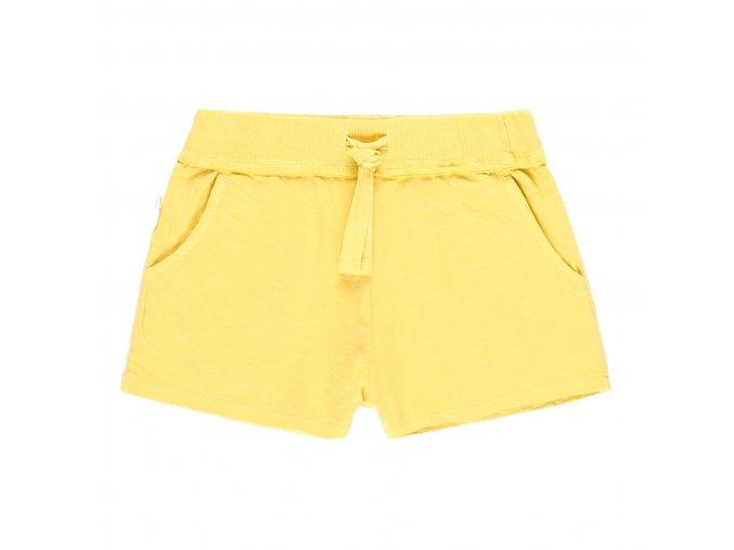 Dívčí šortky grepově žluté bio bavlna Boboli 6290184512 a