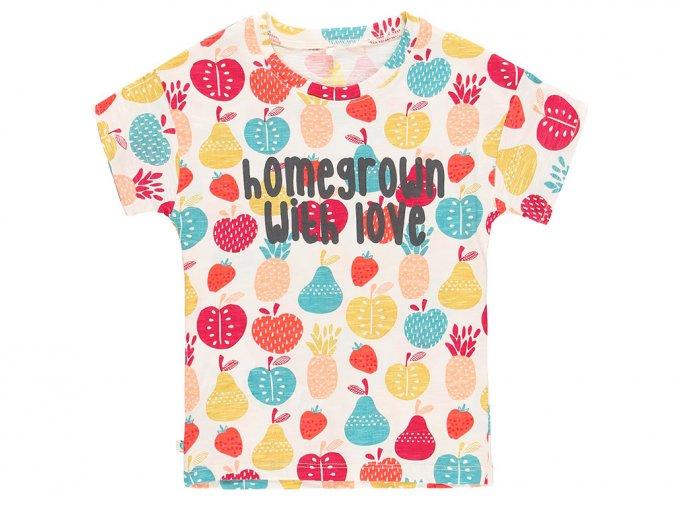 Organic holčičí tričko ovoce