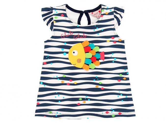 8090639334 Dívčí letní šaty Rybyčka a