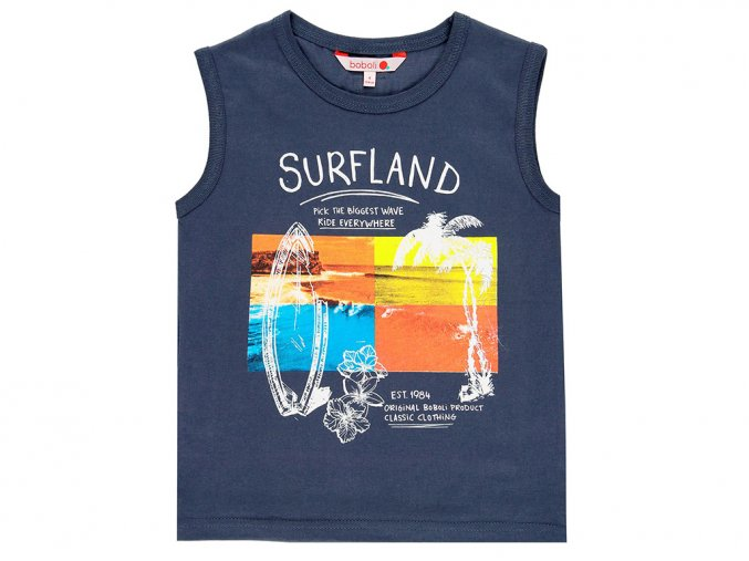 8391788100 a Chlapecké tílko Surflandmodré