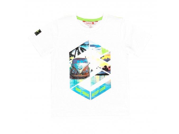 Dětské triko bílé Surf