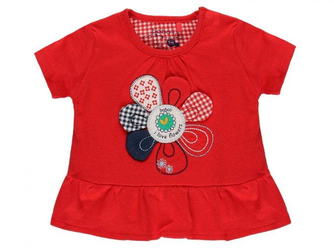 1390473654 a Kojenecké tričko červené s volánky