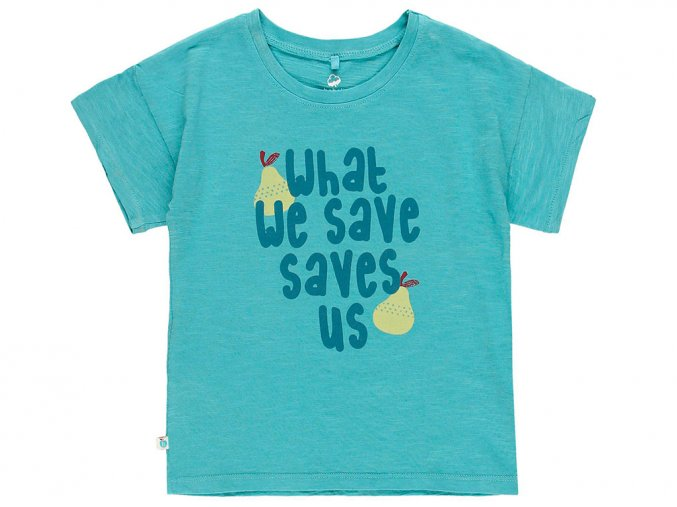 6290414513 a Tričko zachránce modré Organic