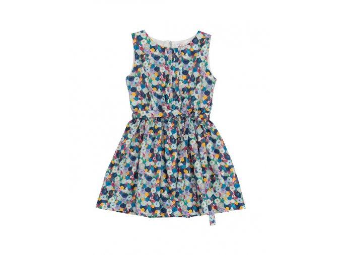 Dívčí letní šaty Monet barevmé