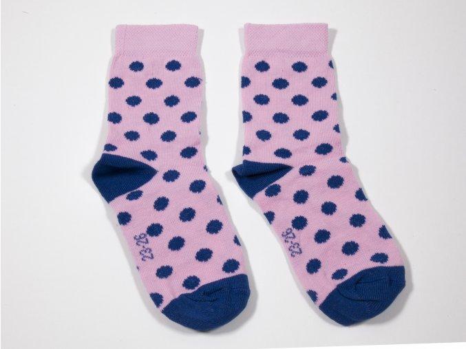 Ponožky puntíky