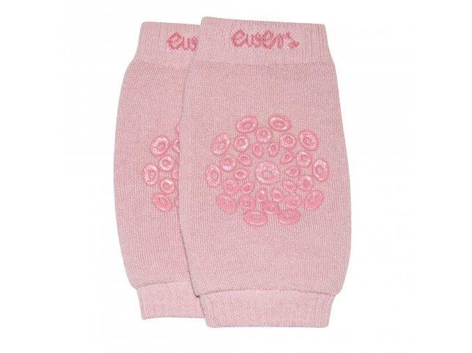 Chrániče kolen batolecí nákoleník s protiskluzem růžový (Velikost 92)