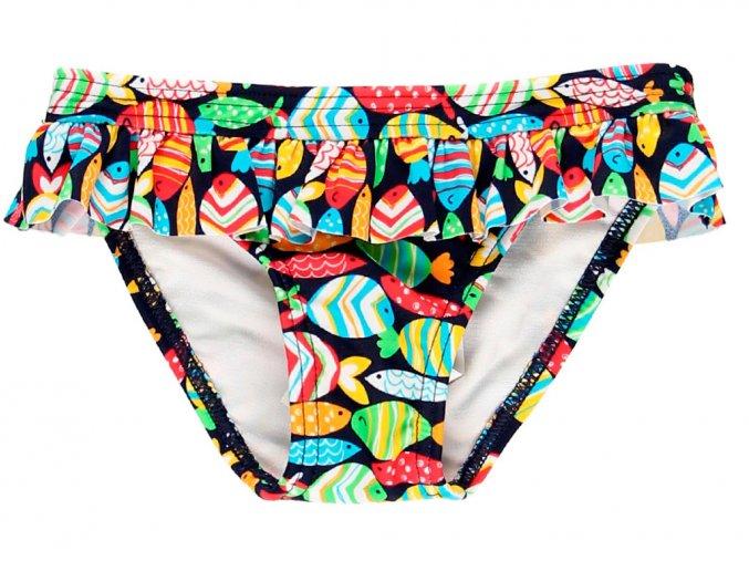 Kojenecké plavky kalhotky Rybičky