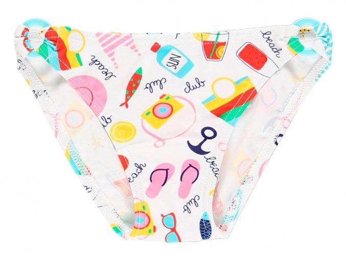 Kojenecké plavky kalhotky barevné léto