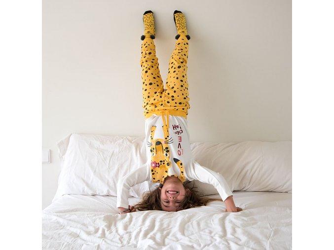 pyžamo Gepardice cut