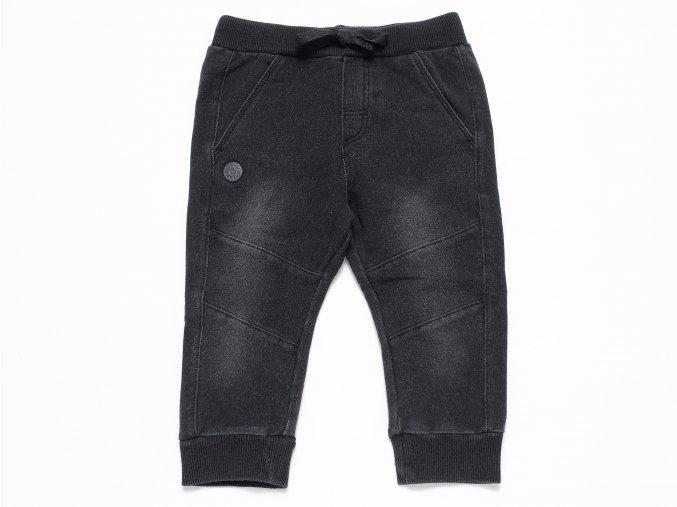 Chlapecké tepláky Jeans černé washout K 10401