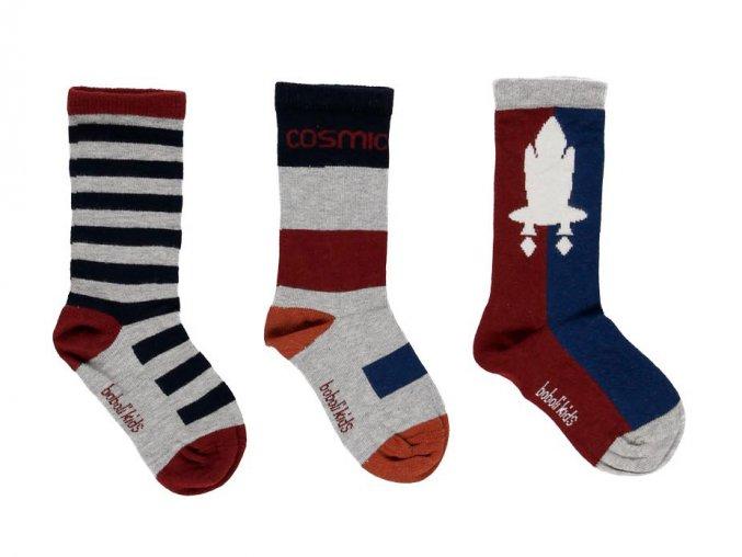 Chlapecké ponožky Space Trio
