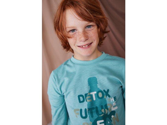 Chlapecké tričko Organic Detox ECO zelené Boboli