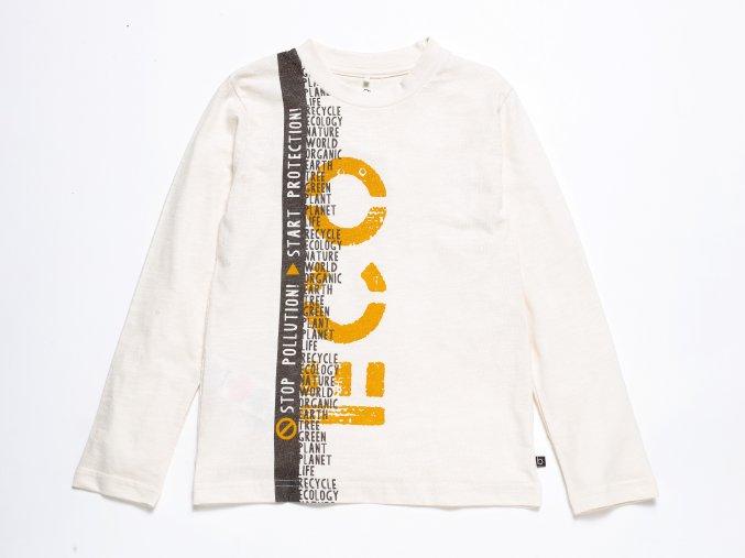 Chlapecké tričko s dlouhým rukávem ECO ORGANIC K 10586