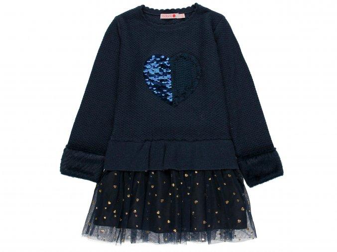 Dívčí šaty noční obloha