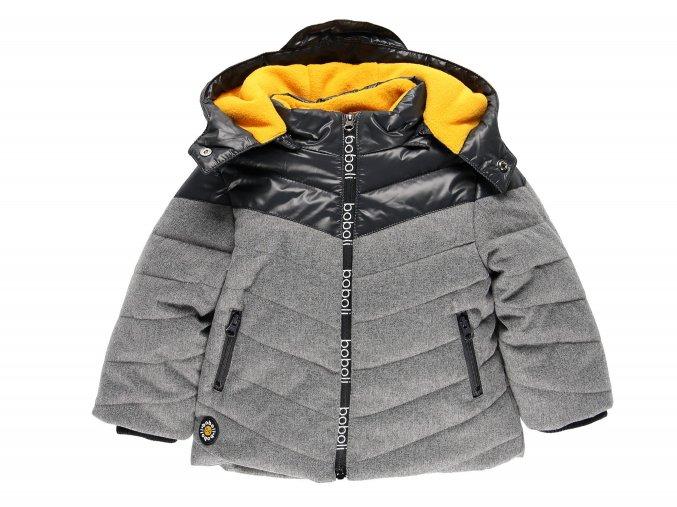 Chlapecká zimní bunda QR šedá