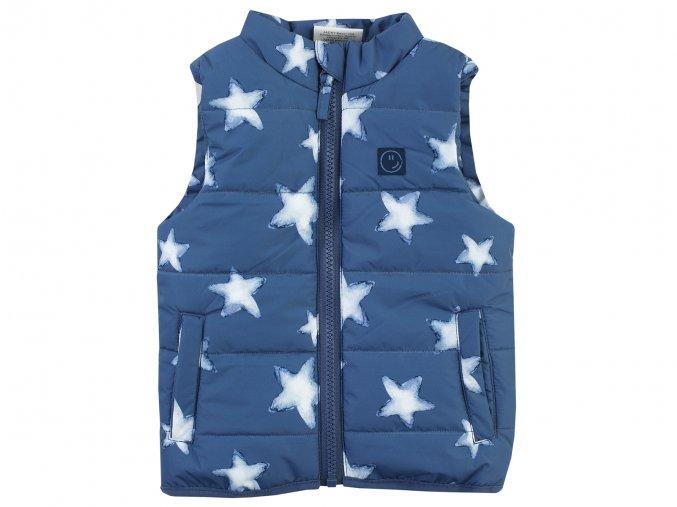 Dětská vesta modrá hvězdy Jacky 3620630 0 3000